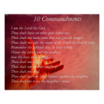 10 Comandments Poster
