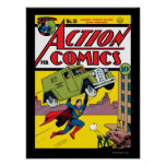 Action Comics #33 Poster
