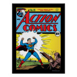 Action Comics #35 Poster