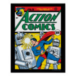 Action Comics #36 Poster