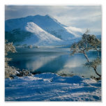 Ballachulish Western Highlands Scotland Poster