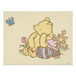Classic Winnie the Pooh and Piglet 1 Poster