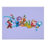 Disney Logo | Mickey and Friends Poster