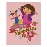 Dora The Explorer | Playroom of Surprises Poster