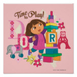 Dora The Explorer | Time To Play! Poster