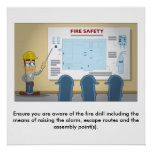 Fire Safety 01 Poster
