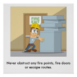 Fire Safety 03 Poster
