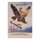 Fly With The US Marines Poster