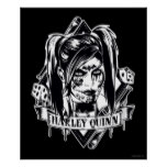 Harley Quinn Badge Poster