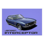 Jensen Interceptor Poster