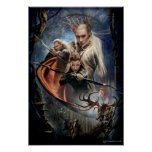 "LEGOLAS GREENLEAFâ""¢, TAURIELâ""¢, and Thranduil Poster"