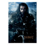 "Limited Edition Artwork: THORIN OAKENSHIELDâ""¢ Poster"