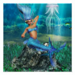 Mermaid Poster Print