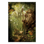 "RADAGASTâ""¢ in Forest Poster"