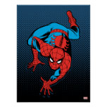 Retro Spider-Man Wall Crawl Poster