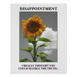 Sorry to disappoint you but you disappoint me [S] Poster