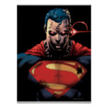 Superman Glare Poster