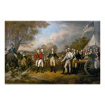 Surrender of Burgoyne Poster
