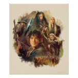 The Company and Elves of Mirkwood Poster