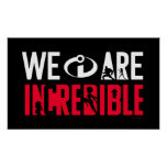The Incredibles 2 | We Are Incredible 2 Poster