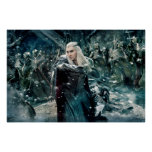 Thranduil In Battle Poster